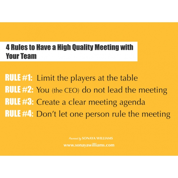 افضل جودة لاجتماع مع فريق عملك