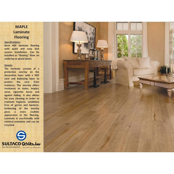 maple laminate flooring