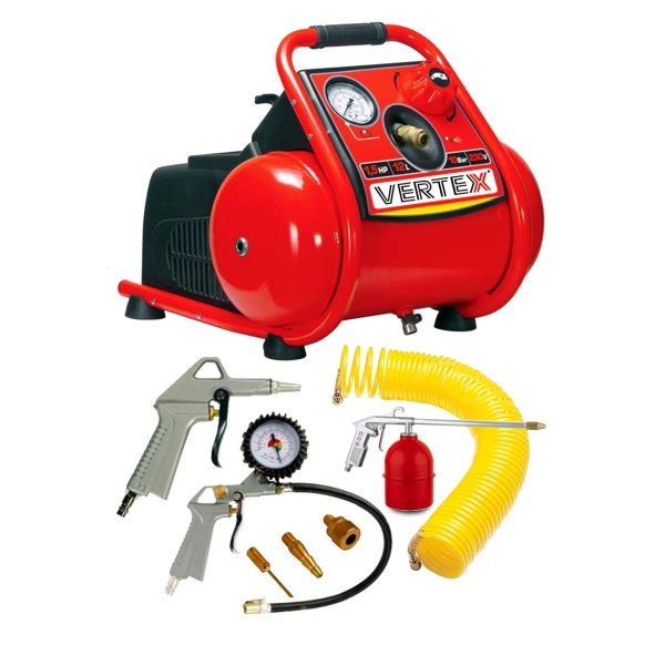 12Ltr Air Compressor with Accessories Kit
